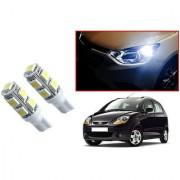 Auto Addict Car T10 9 SMD Headlight LED Bulb for Headlights Parking Light Number Plate Light Indicator Light For Chevrolet Spark