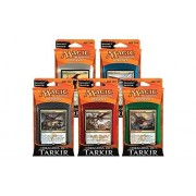 Magic: The Gathering: Dragons Of Tarkir Combo Intro Pack / Theme Deck (Set Of All 5 Intro Packs / Decks Including Alternate Art Promo Cards)