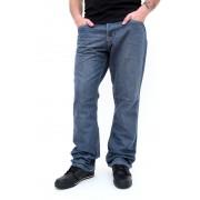 kalhoty pánské -jeansy- SLIM FIT - GLOBE - Coopar - GREY-BLUE