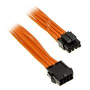 Cablu prelungitor Phanteks 8-pini EPS12V, 50cm, Orange, PH-CB8P_OR