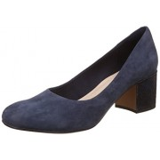 Clarks Women's Barley Rose Blue Pumps - 7 UK/India (41 EU)