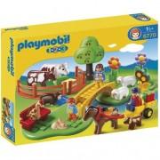 Playmobil 1.2.3 - Prado con Animales - 6770