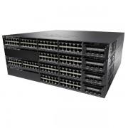 Cisco Catalyst 3650 48 Port Full PoE 2x10G Uplink LAN Base