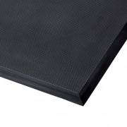 Černá polyuretanová protiúnavová průmyslová rohož Skywalker II PUR, ESD - délka 90 cm, šířka 185 cm a výška 1,4 cm