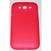 PC кейс мек матиран за Samsung I9082 Galaxy Grand Червен