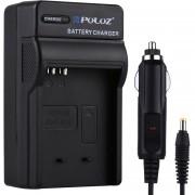Puluz Camara Digital De La Bateria Para Canon NB Nb-4l / Cargador De Coche Cargador De Batería Canon NB