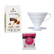 Kedvezményes kávés csomag hario dripperrel és filter papírral