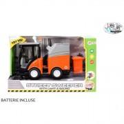 Camion rifiuti frizione luci e suoni 30 cm