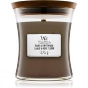 Woodwick Sand & Driftwood lumânare parfumată cu fitil din lemn 275 g