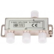 Spliter profesional CATV 3 module 5-1000Mhz