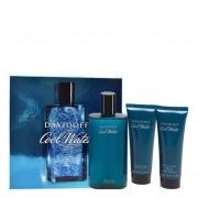 Davidoff Cool Water Eau de Toilette de Davidoff Coffret Perfume Masculino oferta Gel Duche + Aftershave 100+75+75ml
