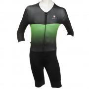 【セール実施中】【送料無料】XBLACK BODY ボディスーツ メンズ 男性用 ワンピース 自転車パンツ サイクルウエア 0237924055-17SS YELLOWGREEN