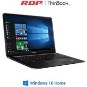 RDP Thin Book -1430 14.1-inch Laptop (Intel Quad Core up to 1.84 GHz / 2GB RAM / 32GB Storage) - Windows 10 (Black)