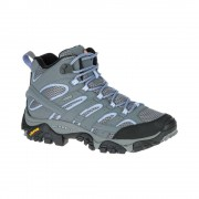 Merrell Shoes Moab 2 Mid Gore-Tex J06066 Grey Periwinkle UK 7.5