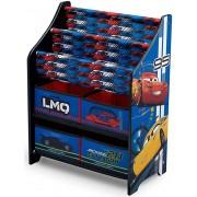 Organizator carti si jucarii cu cadru din lemn Disney LMQ
