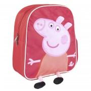 Peppa Pig/Big school rugtas/rugzak voor peuters/kleuters/kinderen