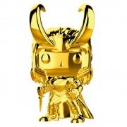 Pop! Vinyl Figura Funko Pop! Loki Dorado - 10.º Aniversario Marvel Studios - Marvel