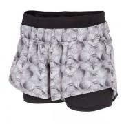 4F Dry Control funkcionális női short fekete-fehér XS