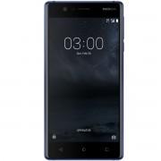 "Telefon mobil Nokia 3 Dual SIM 5.0"", 4G, RAM 2GB, Stocare 16Gb, Tempered Blue"
