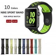 Oanda Reemplazo Para Apple Seguir Nike Band 38mm / 42mm, De Estilo Deportivo KOBWA De Silicona Suave De IWatch Nike + Venda De La Correa Pulsera Para Apple Seguir Serie 1 Y La Serie 2