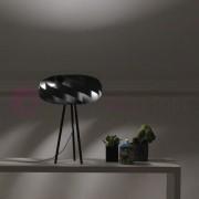 Linea Zero Illuminazione Flat Lampada Da Tavolo Con Treppiede Design Moderno
