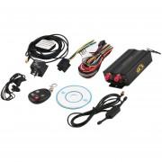 ER Sistema De Seguimiento De TK103B Del Coche Del VERículo De GPS / GSM / GPRS Rastreador De Control Remoto Negro