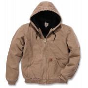 Carhartt Quilt Flannel Lined Sandstone Active Textiljacke Braun 2XL