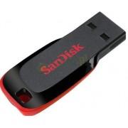 Stick USB SanDisk Cruzer Blade 16GB (Negru)