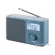 Radio portabil Sony XDR-S61D DAB+/DM, albastru