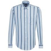 Seidensticker Overhemd Multi Stripe New Button Down Pastel Blauw / male