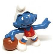 Schleich Smurfs [the Smurf] PVC basketball [Basketball]