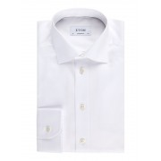 Eton Overhemd met wide spread-kraag