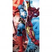 Marvel Avengers Captain America Iron Man Handduk i Bomull