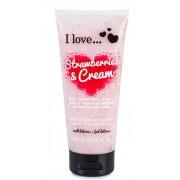 I Love Gel Dus Exfoliant Strawberries&Cream 200 ml