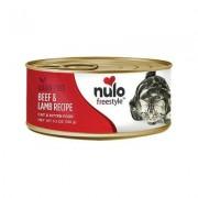 Nulo Freestyle Beef & Lamb Recipe Grain-Free Canned Cat & Kitten Food, 5.5-oz,case of 24