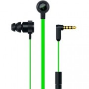 "Слушалки Razer HammerHead V2, тип ""тапи"", гейминг, микрофон, зелени"