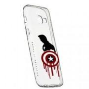 Husa de protectie Marvel Avengers Samsung Galaxy J4 Plus 2018 rez. la uzura anti-alunecare Silicon 199