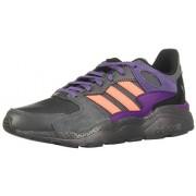 Adidas Crazychaos Zapatillas para Mujer, Color Grey/Signal Coral/Footwear White, 6.5