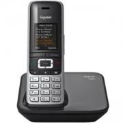 Безжичен DECT телефон Gigaset S850, Черен, 1015137