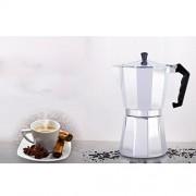 ELECTROPRIME Moka Pot Aluminum Coffee Maker Cappuccino Pot Coffee Cup Cafe Shop New