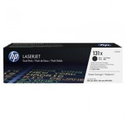 HP 131X 2-pack original LaserJet tonerkassett med hög kapacitet