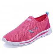 Mesh Breathable Slip On Casual Athletic Shoes