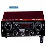 MEDHA HIFI HOME AUDIO AMPLIFIER WITH DIGITAL MEDIA PLAYER FM INBUILT