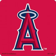 Major League Baseball Los Angeles Angels Logo Stickers Prizes and Giveaways - 100 per Pack
