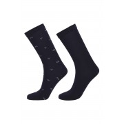 Gant Ponožky D1. 2-Pack Gant And Solid Socks modrá
