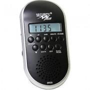 Security Plus Bicycle radio Security Plus BR28 MP3/USB Black/silver