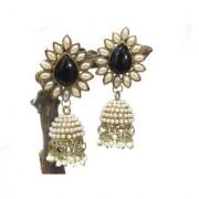 Aashiqui 2 Black polki pearls Jhumka Earring