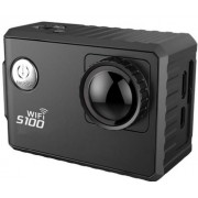 Camera Video Sport Dare S100, Filmare 4K, Wi-Fi, GPS, Subacvatica (Negru)