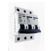 Disjuntor Eletromec Din Tripolar 10A ao 63A