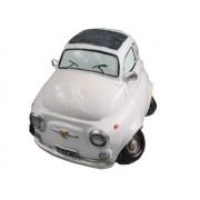 Hucha coche 600 blanco
